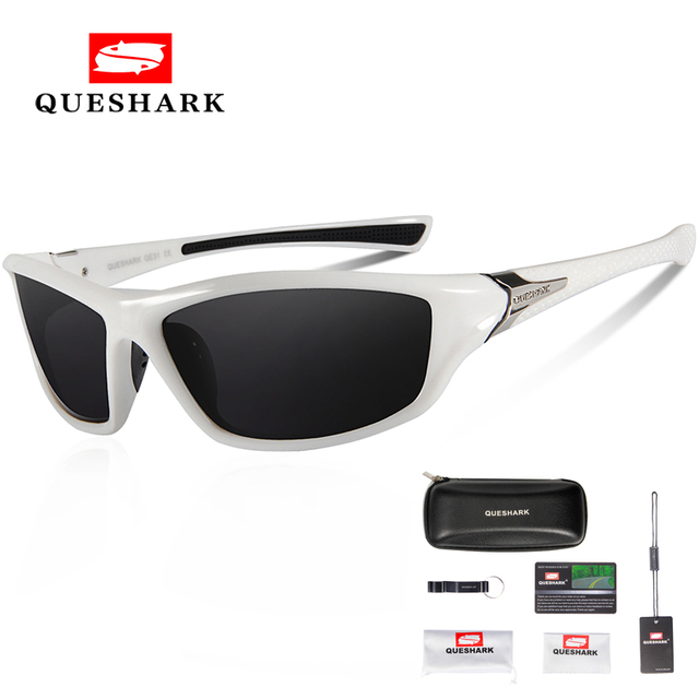 c0196ffdf57 Special Offers Queshark Men Women Cycling Glasses Bicycle Goggles Bike  Glasses Polarized Sport Sunglasses Fishing Skiing