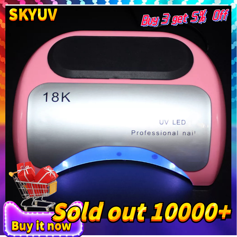 Professional 48 W UV Lamp Nail Dryer For Nail Gel Varnish Curing LED Nail Lamp Dryers Art Manicure Automatic Sensor Nail ToolsProfessional 48 W UV Lamp Nail Dryer For Nail Gel Varnish Curing LED Nail Lamp Dryers Art Manicure Automatic Sensor Nail Tools