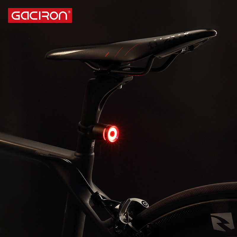 Gaciron Waterproof Bicycle Light USB Rechargeable LED Bike Taillights Cycling Bicycle Warning Light Lamp Clip Bike Accessories