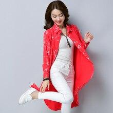 Plus Size Kimono Blouse Tunic Fd01