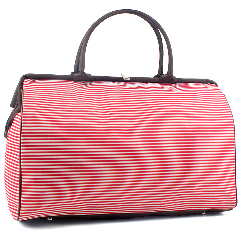Women Large Travel Bags Fashion Weekend Hand Luggage Capacity Bag  Size 44*30*19cm  48%OFF 152