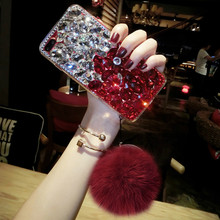 for samsung note 5 8 cover Jewelled Bling Crystal Rhinestone Diamond Soft phone cases galaxy s8 s9 s10