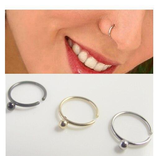 925 plata piercing nasenstecker piercing nariz conector piercing joyas anillo