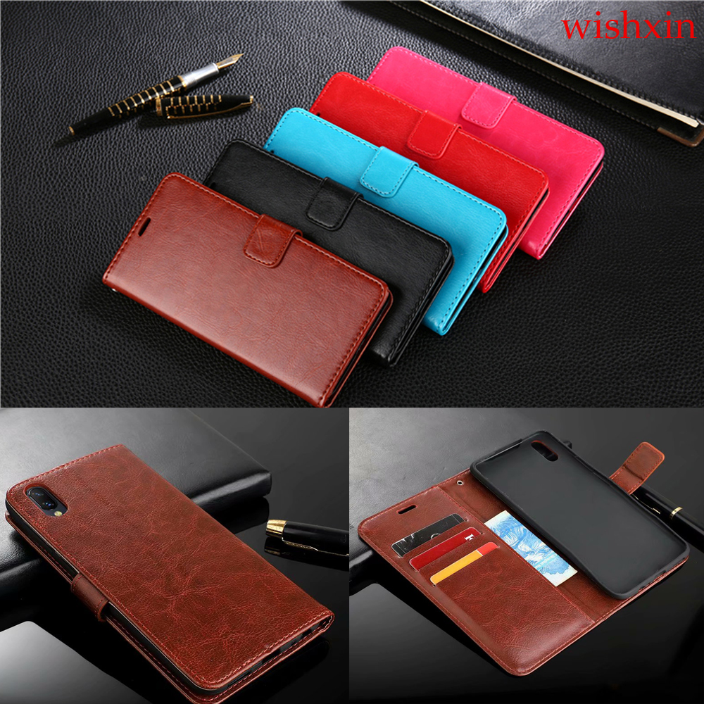 best top leather flip case vivo brands and get free shipping