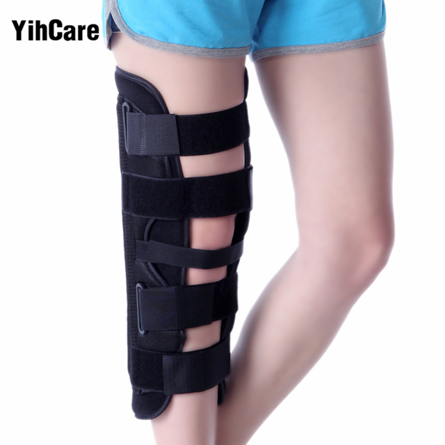 1aedc39ac0 YihCare Knee Brace Support Pad Patella Knee Fixing Orthopedic Leg Posture  Corrector Fractures Splint Guard Support For Arthritis