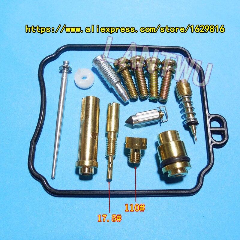 (1 Set Of $ 17)YM Virago XV250 Motorcycle Mikuni BDS26 Carburetor Repair Kit Kit Configure Jet Needle(J.N.)/Needle Jet (N.J.)