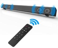 Últimas 40 w TV altavoz de audio sistema de sonido de cine en casa con el control remoto de tarjeta micro SD usb aux coaxial y óptica