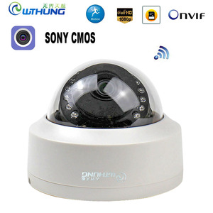 Image 1 - CamHi CCTV Wifi Wireless IP Camera Dome  1080P SONY323 960P 720P P2P Onvif Audio IR Cut Filter Motion Detection Alarm For IP Cam