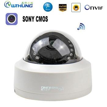 CamHi CCTV Wifi Wireless IP Camera Dome 1080P SONY323 960P 720P P2P Onvif Audio IR Cut Filter Motion Detection Alarm For IP Cam