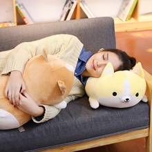 30/45/60cm Cute Corgi Dog Plush Toy Stuffed Soft Animal Cartoon Pillow Lovely Christmas Gift for Kids  Anime Plush  Plush Toys anime re life in a different world from zero stuffed toy plush toy rem ram bolster hold pillow stuffed toys game plush toys