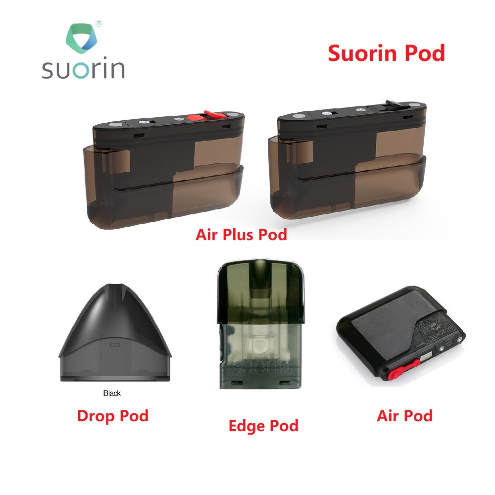 Original 1pc <font><b>Suorin</b></font> <font><b>Air</b></font> <font><b>Cartridge</b></font>/ <font><b>Suorin</b></font> Drop Cartride/ <font><b>Air</b></font> <font><b>Plus</b></font> <font><b>Pod</b></font>/ Egde <font><b>Pod</b></font> For <font><b>Suorin</b></font> Vape Kit <font><b>Pod</b></font> System Vape Vaporizer image