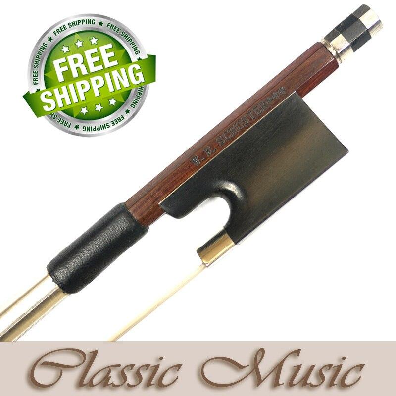 Мастер уровня permanbuco Хилл модель w.r. Шустер *** Скрипки лук, хорошо сбалансированный и быстрый ответ Лидер продаж!