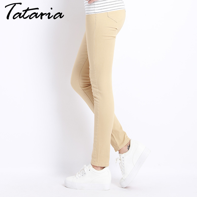Jeans Female Denim Pants Candy Color Womens Jeans Donna Stretch Skinny Pants For Women Trousers 1