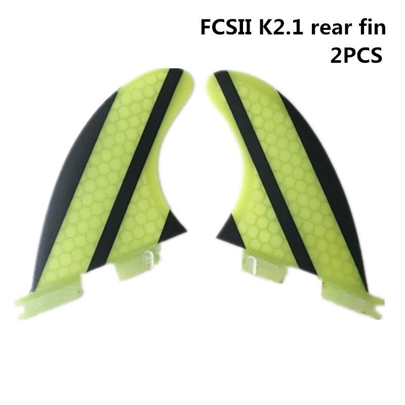 Surfboard FCS2 Fins Quilhas FCS ii Fins K2.1 belakang sirip - Sukan air - Foto 1