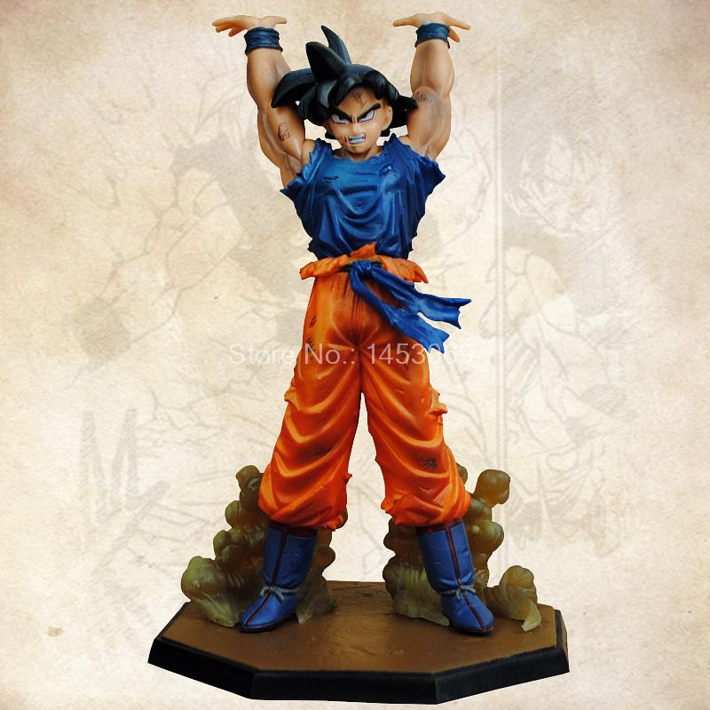 Dragon Ball Z Heros Son Gokou Super Saiyan 3 PVC Action Figure Collectible Model Toy 17cm dragon ball z super big size super son goku pvc action figure collectible model toy 28cm kt3936