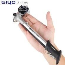 GIYO велосипедный насос с рукояткой Мини насос высокого давления воздушный шланг Schrader Надувное Велосипедное Fietspomp ударная вилка велосипедный насос для шин