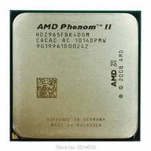 AMD Phenom II X4 965 3,4 GHz Quad-Core CPU procesador HDZ965FBK4DGM hembra AM3