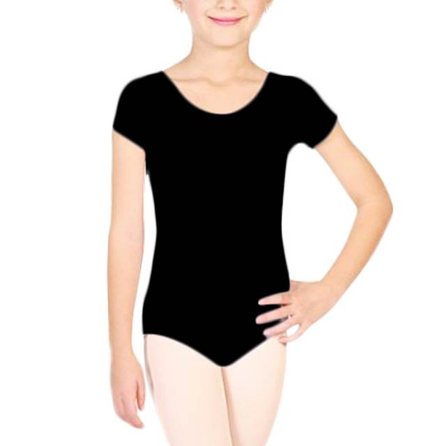 c4f855185 placeholder Algodón ropa Ballet para Ballet Girls manga corta leotardos  mono chicas Dancewear