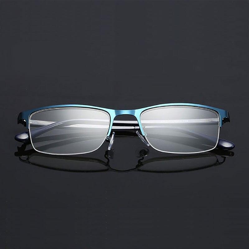 Occhiali Mezza Rim Occhiali Da Vista ottico Non Sferica 12 Strati Rivestito Lenti  Occhiali Da Lettura 8910dbd3c3