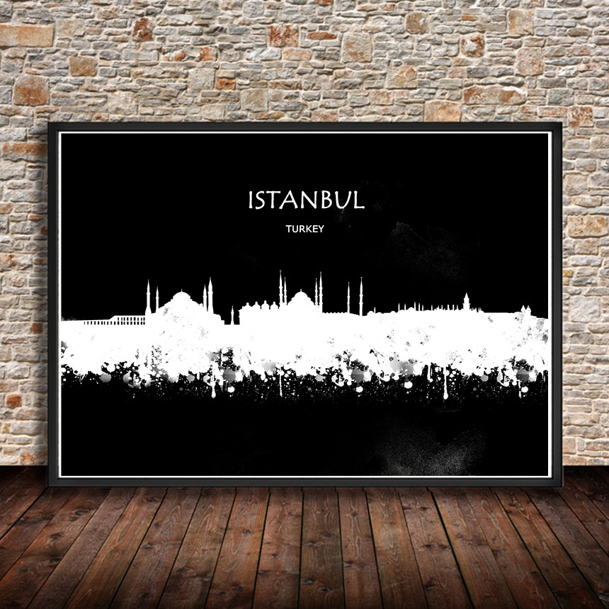 Buy Wall Art Istanbul And Get Free Shipping On AliExpress