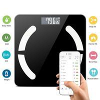 Bluetooth LCD Digital Smart Scale Body Weight Fat BMI Bone Analyzer APP