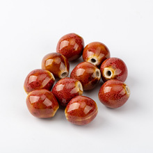 Oval Shape Sphere Ceramic beads  round  Not natural stone Specail Ceramic Beads 10pieces/lot #A325C