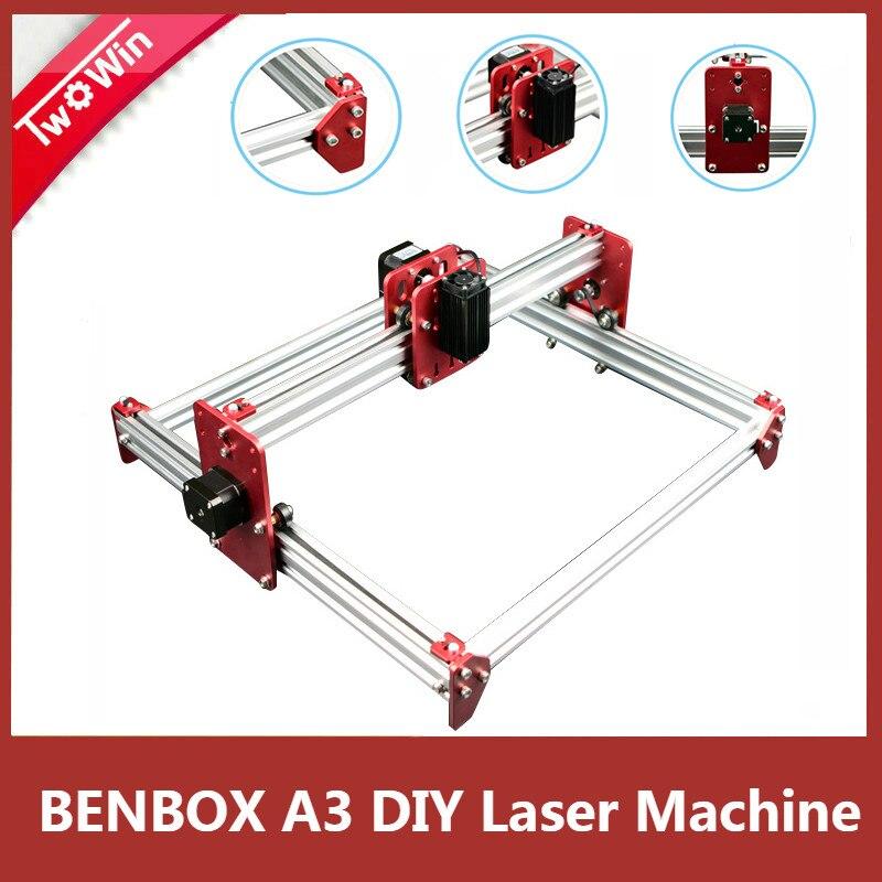 New BENBOX A3 laser DIY machine,BENBOX software,laser all metal frame engraving machine Mini Laser Engraving Advanced Machine