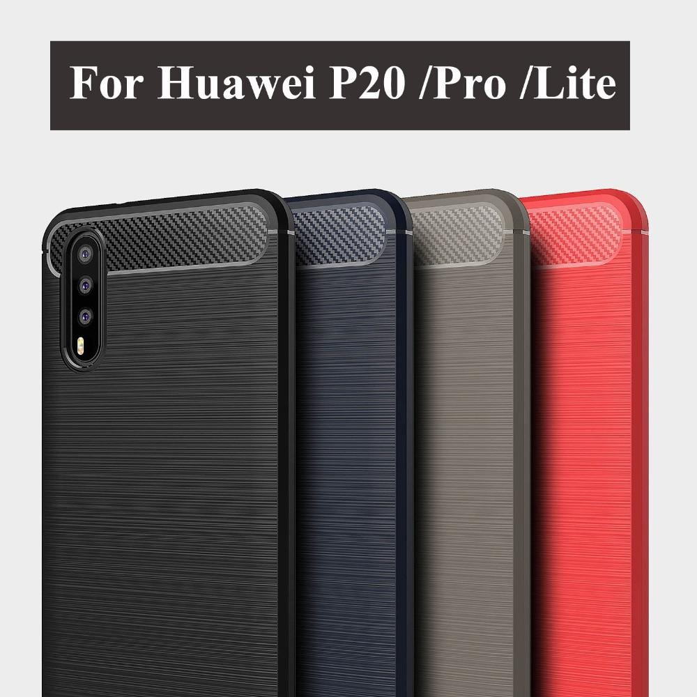 ⊱Suave cepillado casos para Huawei P20 Pro Lite cubierta de ...