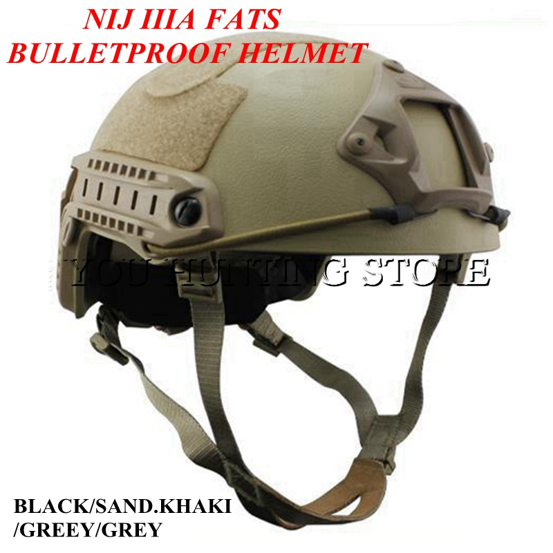 ABS Tactical Fast Ballistic Helmet NIJ IIIA Level Combat War Games Shooting Hunting Bulletproof Hemelt 2015 new kryptek typhon pilot fast helmet airsoft mh adjustable abs helmet ph0601 typhon