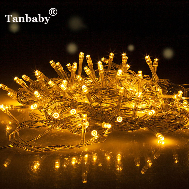 Genteel Dc5v 3m Led String Light Aa Battery Powered Christmas Decoration Garland Fairy Lighting Party Wedding Festival Good Heat Preservation Led String Led Lighting