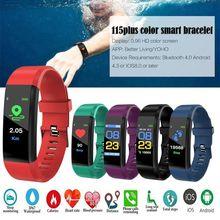 цена на Health Bracelet Heart Rate Blood Pressure Smart Band Fitness Tracker Smartband Wristband honor mi Band 3 fit bit Smart Watch