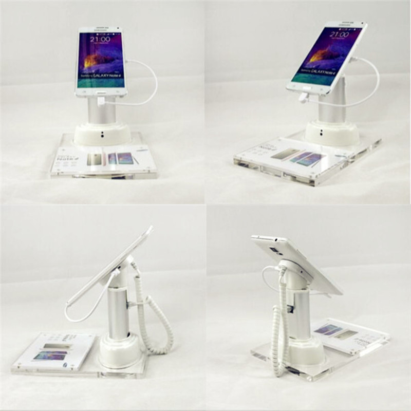 anti-theft security mobile cell phone retail store EAS display stands holders rack with alarm /charging function 5 set lot cell phone security anti theft display stand with alarm and charging function for mobile phone retail store exhibition