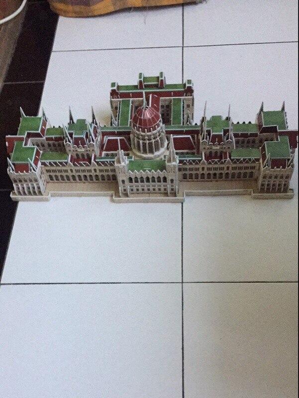 CubicFun 3D пазл венгерский парламент всемирно известный архитектура собраны модели развивающие игрушки для мальчиков подарок