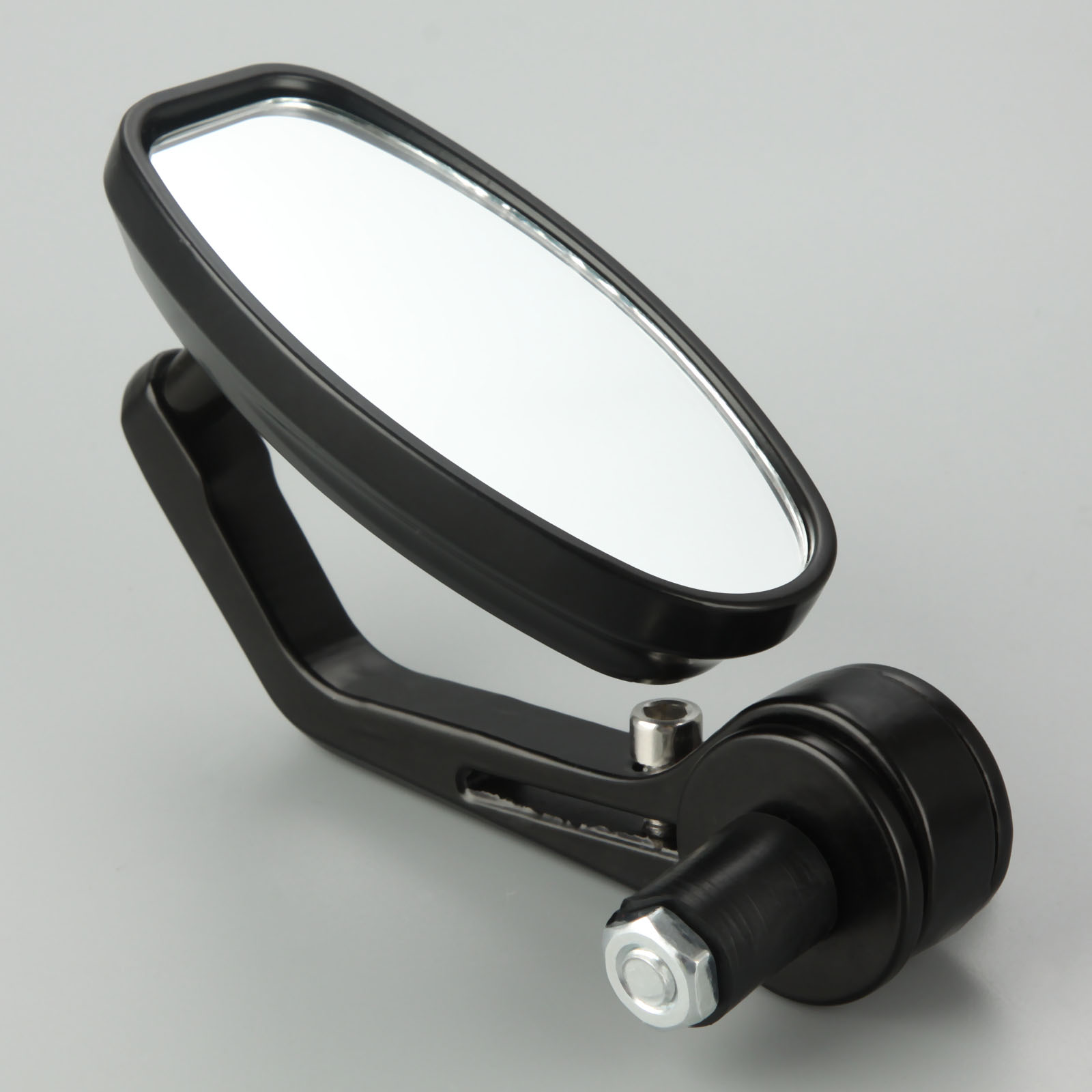 "Image 3 - Motorcycle Rear View Mirrors 7/8"" CNC Aluminum Motorbike Rearview Mirror Cafe Racer For 22mm Handlebar Motorcycle-in Side Mirrors & Accessories from Automobiles & Motorcycles"