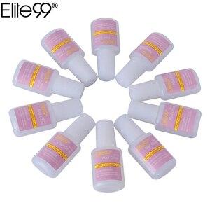 Elite99 10 шт./компл. клей для ногтей для накладных ногтей Быстросохнущий акриловый 3D клей для украшения ногтей горный хрусталь косметический ин...