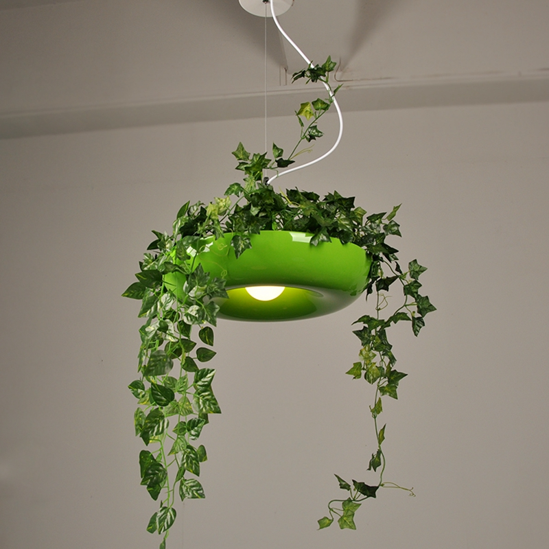 Ems Spsr Lukloy Babylon Potted Plant Pendant Light Lamp