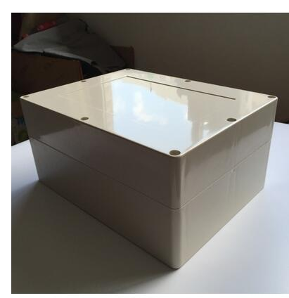Plastic waterproof box 320*240*150mm F10 ABS plastic Gaogai control box plastic shell 4pcs a lot diy plastic enclosure for electronic handheld led junction box abs housing control box waterproof case 238 134 50mm