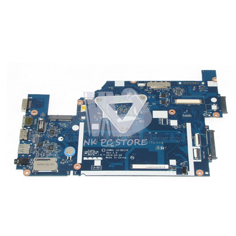 NOKOTION NBMNY11001 NB.MNY11.001 For Acer aspire E5-511 Laptop motherboard Z5WAL LA-B211P SR1YJ N2840 CPU DDR3L