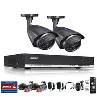 ANNKE HD 4 Channel 1080N 960P 1 3 Mp DVR 2 Outdoor CCTV Home Security Camera