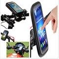 Для Lg G5 G4 Samsung Galaxy J5 A3 Huawei P9 P8 Lite Держатель Мобильного Телефона Случае Мотоцикл Водонепроницаемый Мешок Мешок Велосипед стоит