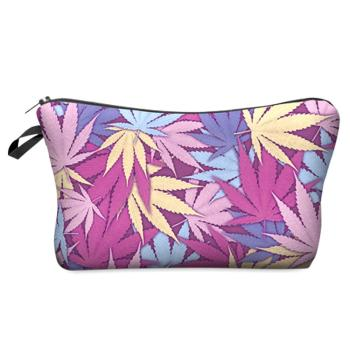 Large Cosmetics Bag With Designs