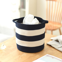 Nordic Style Multifunctional Storage Bag Bathroom Bedroom Cotton Linen Laundry Hamper Basket Toys Organizing Storage Bag