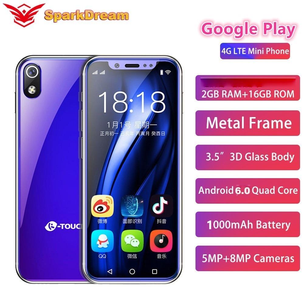 "I9 I9S Super Mini Mobile Phone 2GB 16GB 3.5"" MT6739V Quad Core Android 6.0 8.0MP 4G LTE Smallest Small Android Smart Phone"