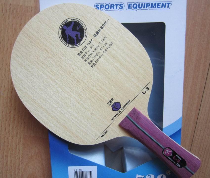 Original 729 L-3 table tennis blade carbon blade racquet sports loop attack