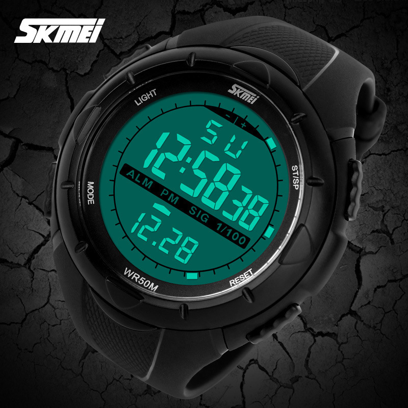 SKMEI Brand Men Sports Watches LED Digital Watch Fashion Outdoor Waterproof Military Men's Wristwatches Relogios Masculinos Hot