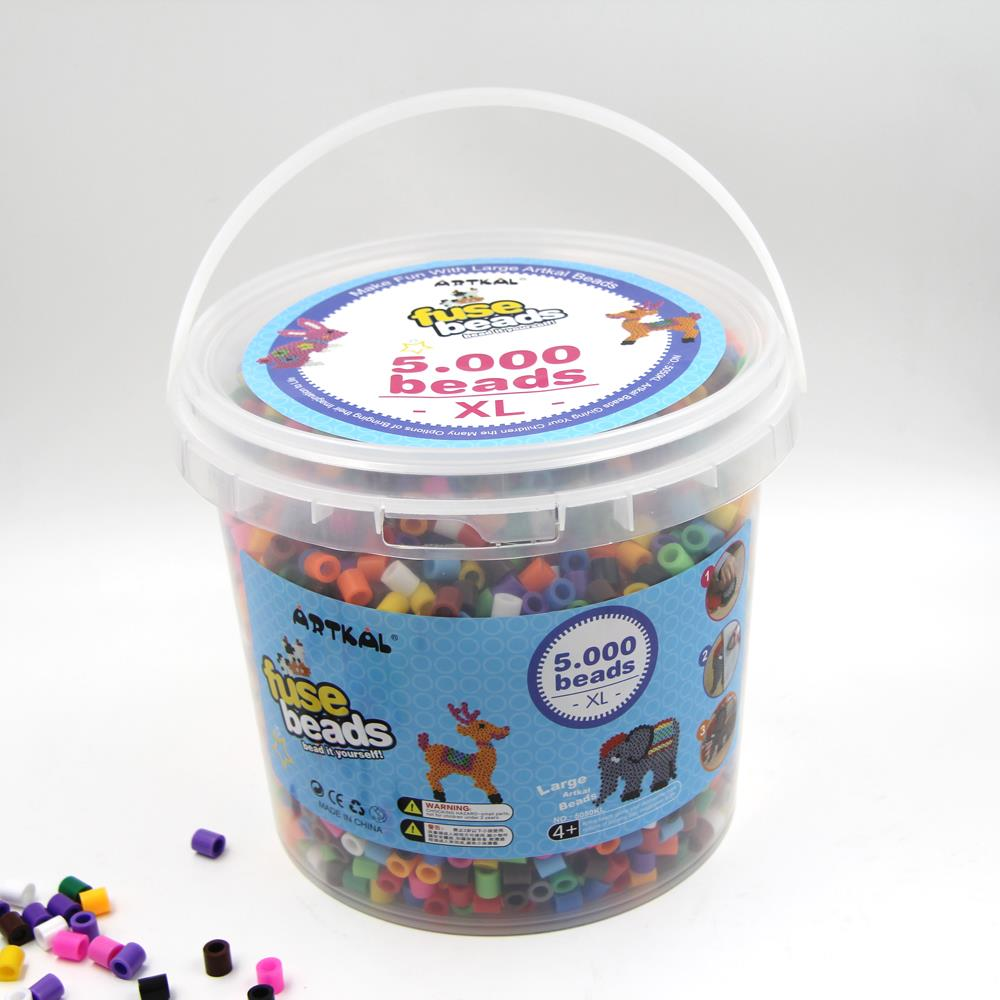 Artkal 5000 beads bucket set 10mm large beads for kids 5050KL