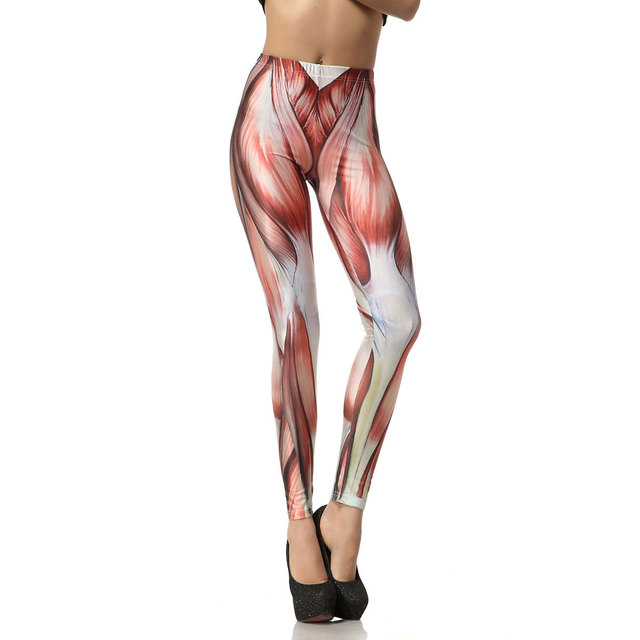 1006 Fitness Elastic Women Leggings Sexy Girl Polyester Slim Fit