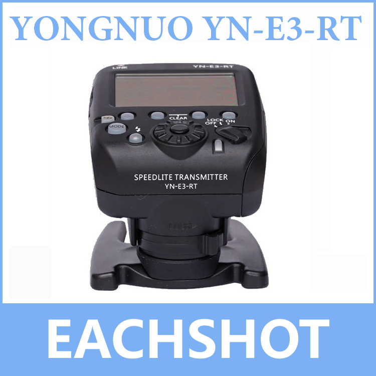 YONGNUO YN-E3-RT TTL Radio Trigger Speedlite Transmitter as ST-E3-RT mcoplus mt e3 rt ttl radio trigger speedlite transmitter for canon 600ex rt as st e3 rt vs yn e3 rt