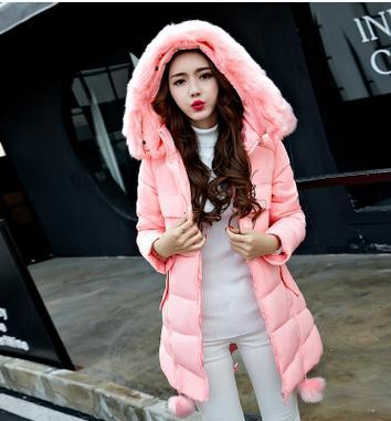 2017 winter new stylish Korean maternity coat cotton jackets for pregnant women large  size cotton warm overcoat SZ1103