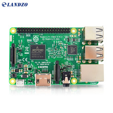 Raspberry Pi 3 Model B Board 1GB LPDDR2 BCM2837 Quad-Core Ras PI3 B,PI 3B,PI 3 B with WiFi&Bluetooth 2016 New(Element14 Version)(China (Mainland))